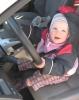Leonie als Fahrerin